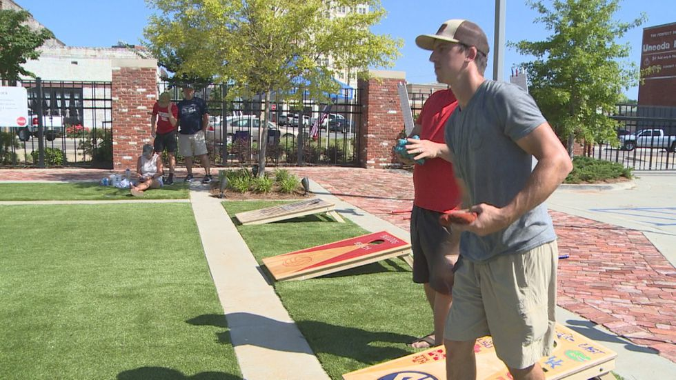 The State Games of Mississippi hosted its first annual corn hole event.