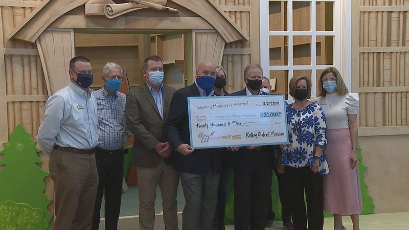 Rotary Club of Meridian donation