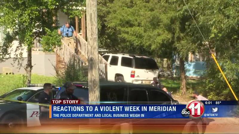 MPD and a local business react to a violent week in Meridian.