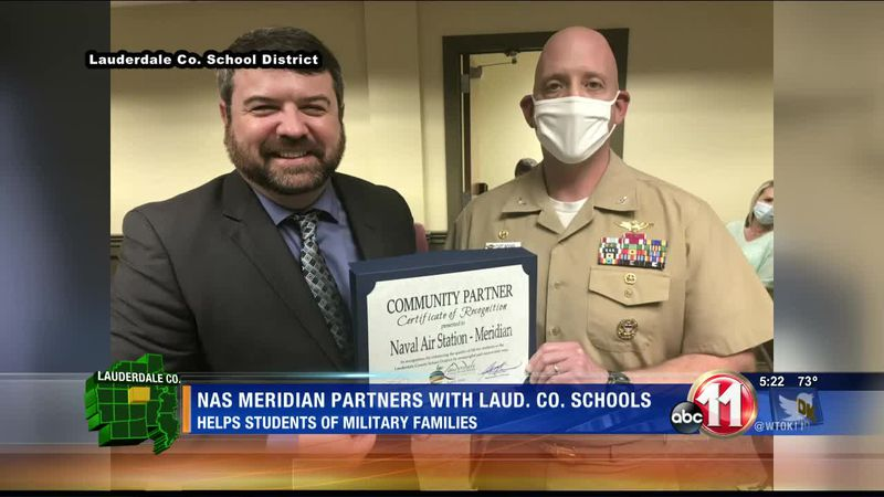 NAS Meridian partners with local school district