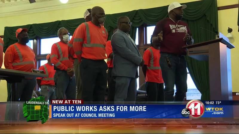 Meridian public works asks city council for raises