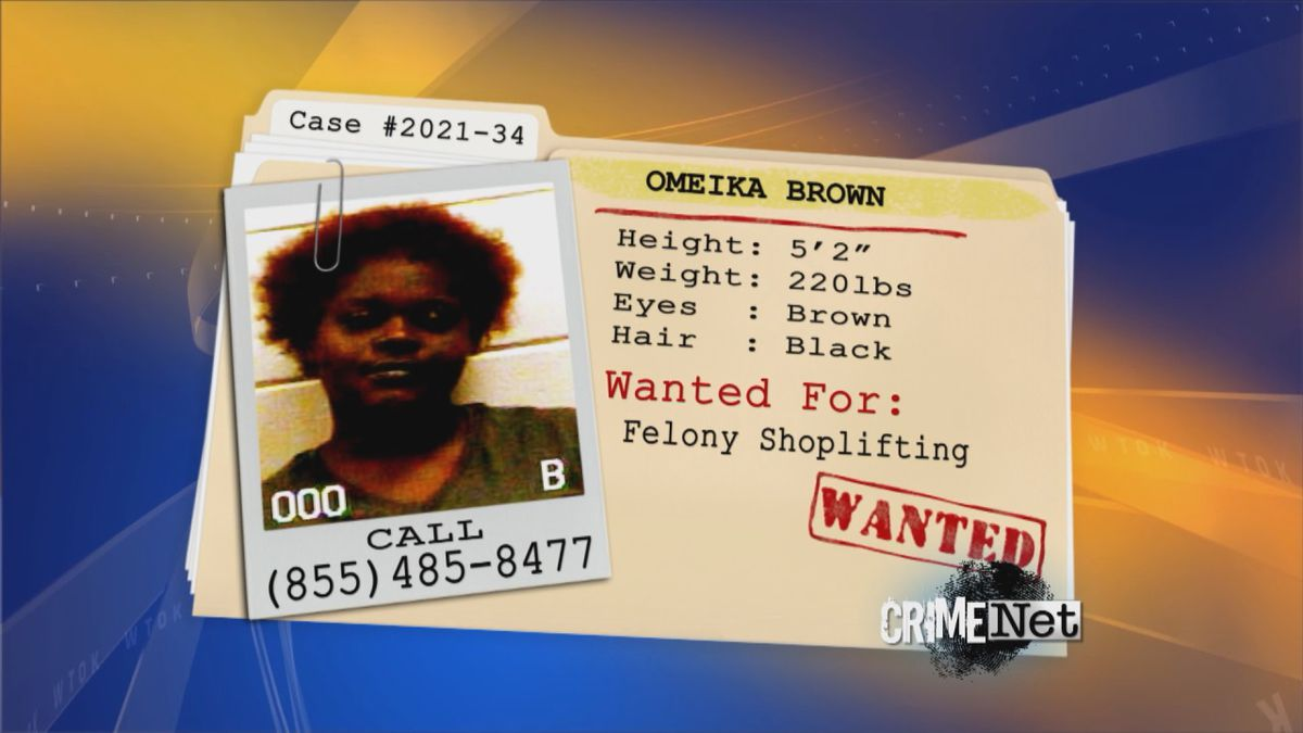 The Lauderdale County Sheriff's Department needs your help to locate Omeika Brown.