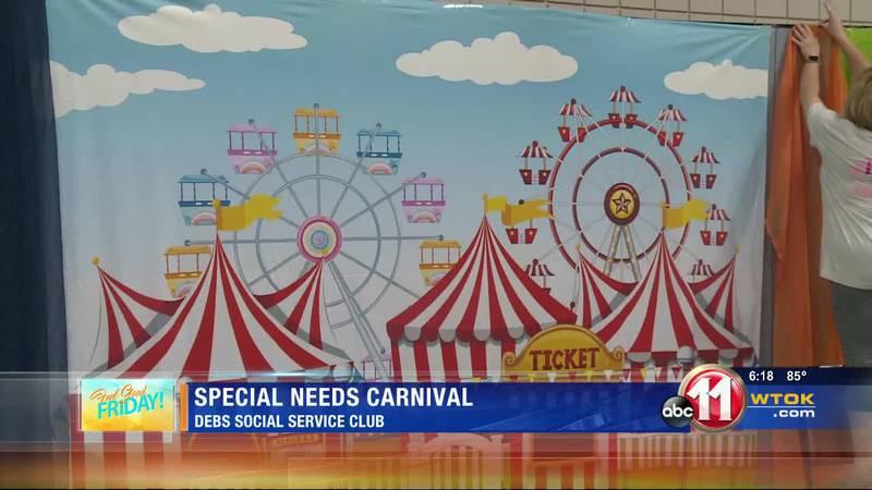 Debs Social Service Club holding carnival Saturday