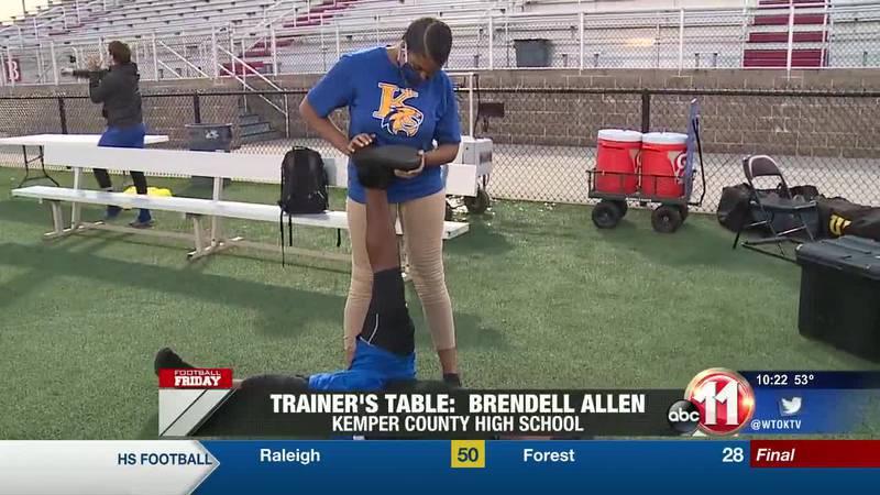 Trainer's Table: Brendell Allen (Kemper County)