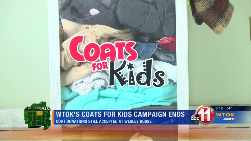 WTOK's Coats for Kids campaign lands large number of donations