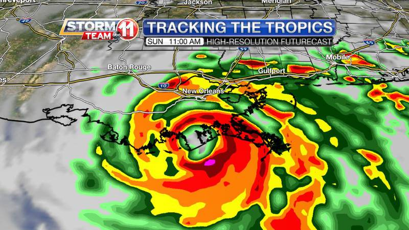 Hurricane Ida is expected to become a powerful, dangerous category four hurricane with winds of...