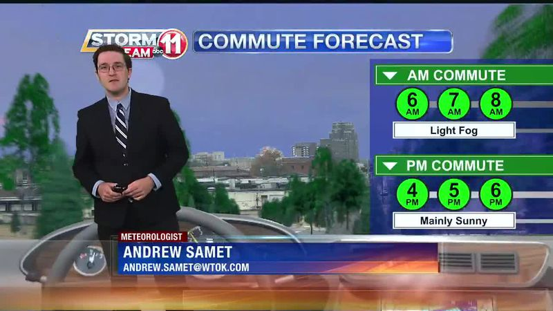 Today's Weather - Andrew Samet - April 12th, 2021