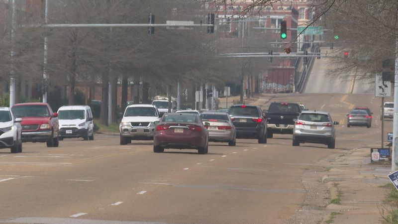 Drivers and pedestrians using Sela Ward Parkway will enjoy a newly paved road, new sidewalks,...