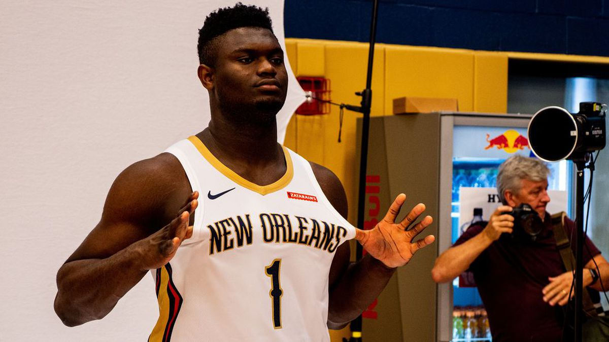 New Orleans Pelicans power forward Zion Williamson.