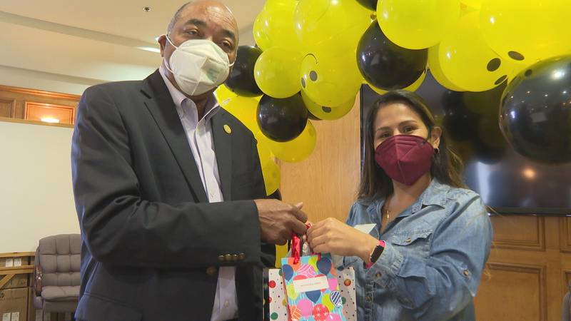 The Greater Meridian Health Clinic showed its appreciation for staff members during day five of...