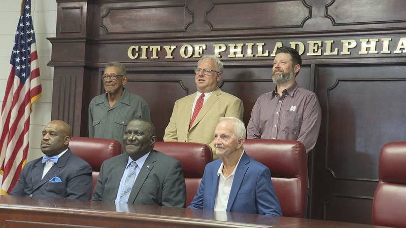 Mayor Young, along with the elected five-member Board of Aldermen, took the oath of office at...