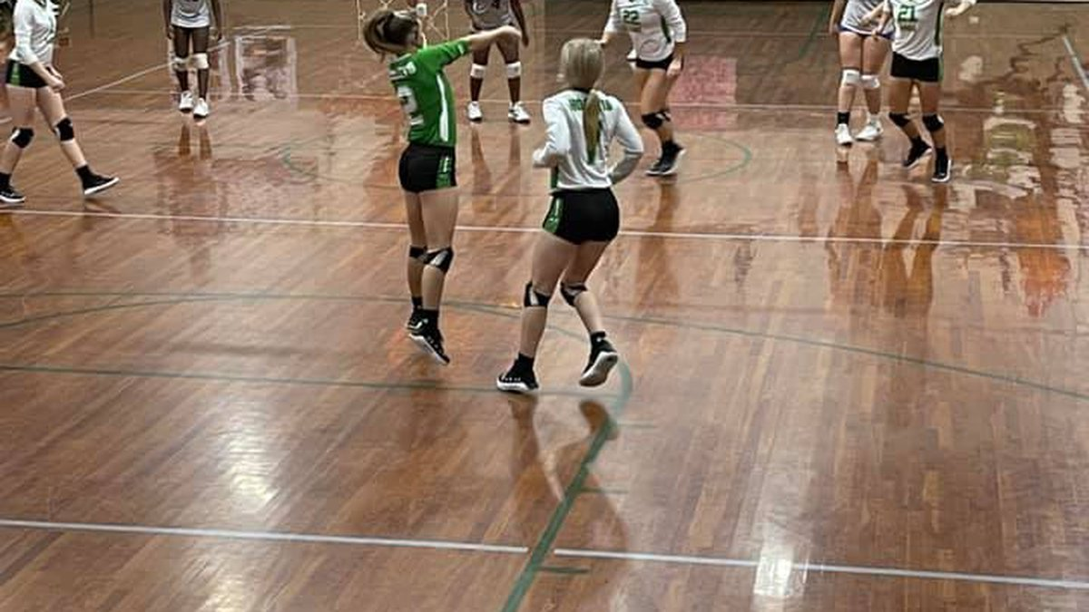 Lake High School hosted Mize on Tuesday in the first round of the volleyball playoffs. The...