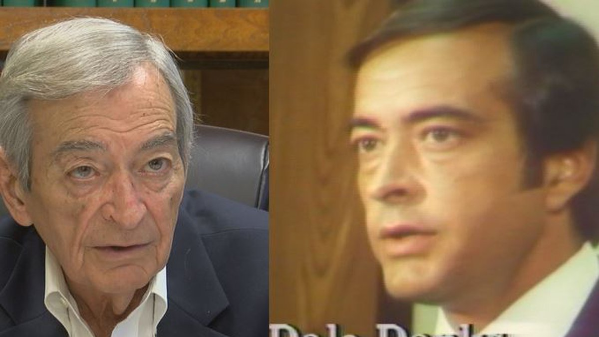 Dale Danks recent (left) and in 1979, as mayor of Jackson (Source: WLBT)