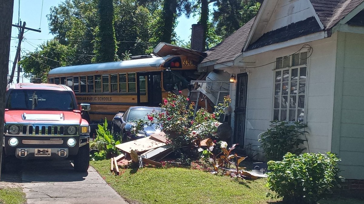 The crash happened Friday in Meridian.