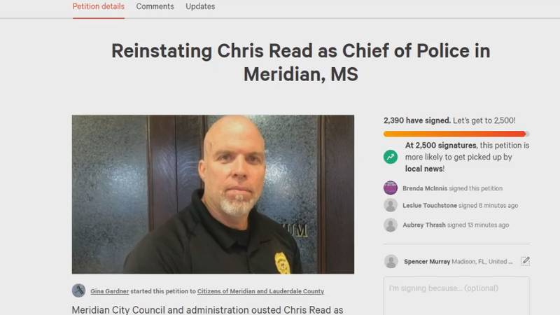Petition reaches over 2,000 signatures.