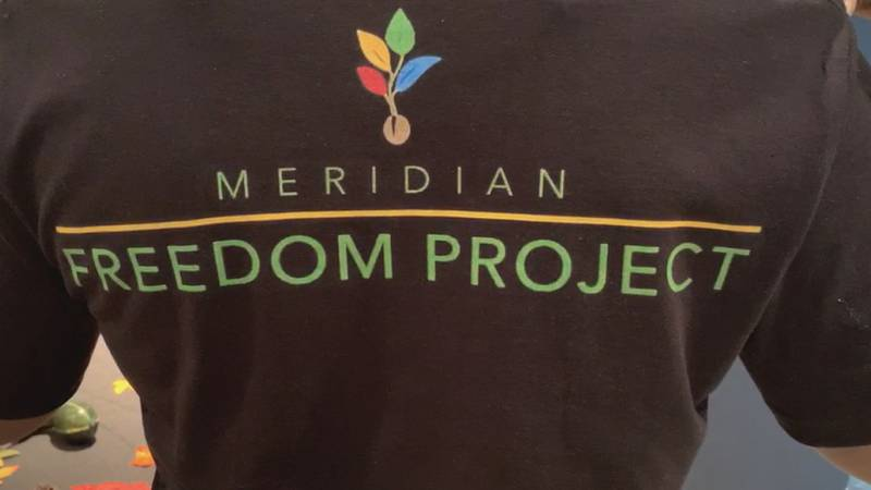The Meridian Freedom Project was awarded a big grant from a local organization in Meridian.