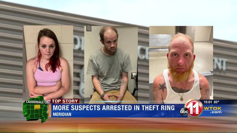 3 more arrests made in theft ring