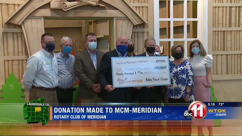 Rotary Club makes donation help the children of East Mississippi
